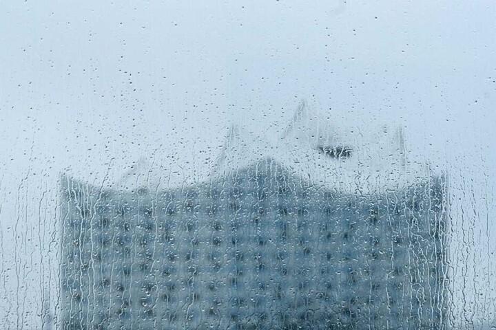 Die Hamburger müssen weiterhin mit viel Regen rechnen.