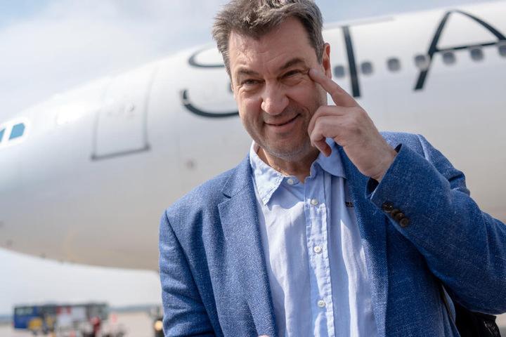 Bayerns Ministerpräsident Markus Söder setzt seine Afrikareise am Dienstag weiter fort.