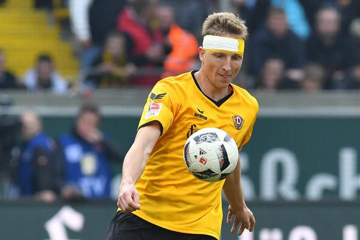 Marco Hartmann will Dynamo am Sonntag zum ersten Heimsieg des Jahres führen.