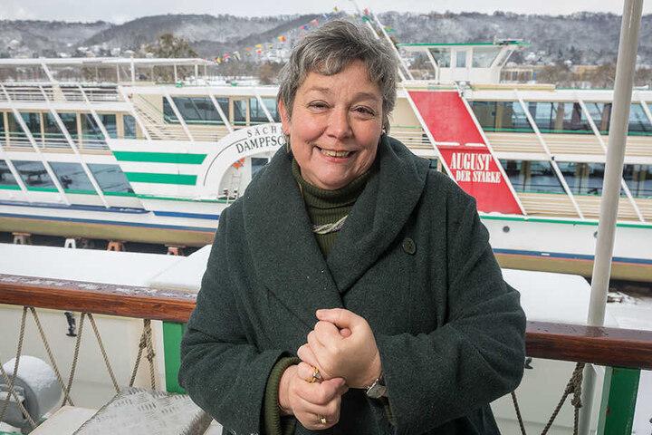 """Flotten-Chefin Karin Hildebrand (62) hat gut lachen: """"2016 war ein gutes Jahr."""""""