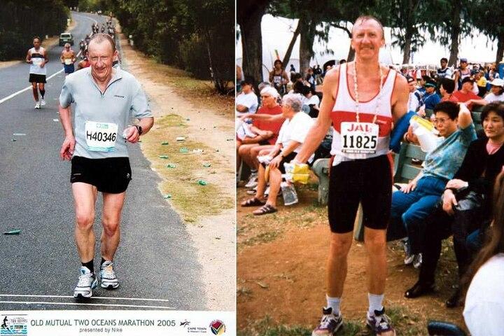 Dank seines Hobbys kam der Zwickauer weltweit viel rum. Unter anderem war er beim New-York-Marathon dabei.