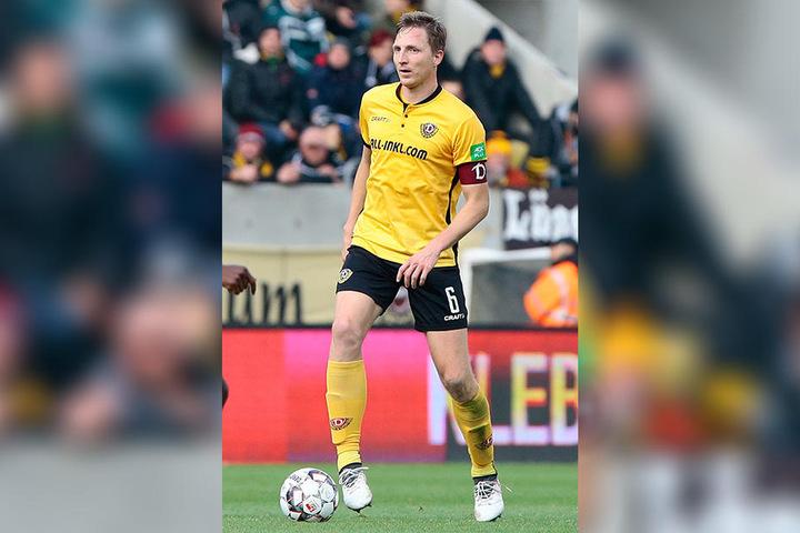 Der Dynamo-Kapitän wird wohl für mehrere Wochen ausfallen.