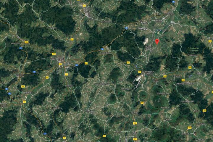 Der Unfall ereignete sich im osthessischen Heringen.