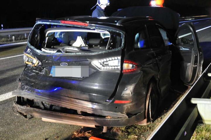 Bei dem Unfall wurde auch ein kleiner Junge verletzt.