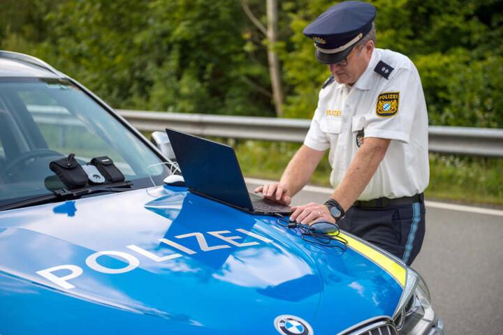 Die bayerische Grenzpolizei ist an der deutsch-österreichischen Grenze im Einsatz. (Archivbild)