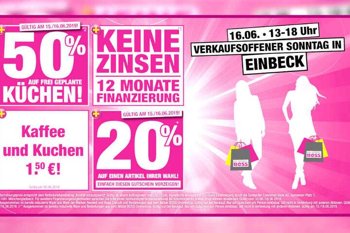 Verkaufsoffener Sonntag Bei Möbel Boss Heute Bis Zu 50 Sparen Tag24