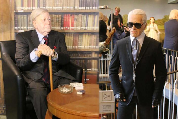 Neben der TV-Moderatorin sind auch Hamburger Größen wie Alt-Kanzler Helmut Schmidt oder Mode-Guru Karl Lagerfeld im Panoptikum zu sehen.