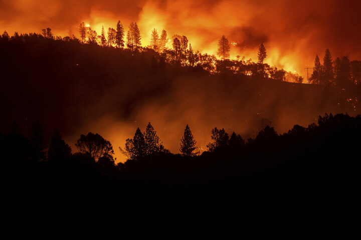 Die Brände zerstörten schon über 6000 Häuser.