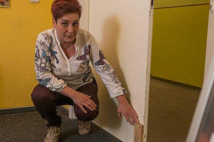Tanzschul-Chefin Jaqueline Weise (52) ärgert sich über den dreisten Bruch.