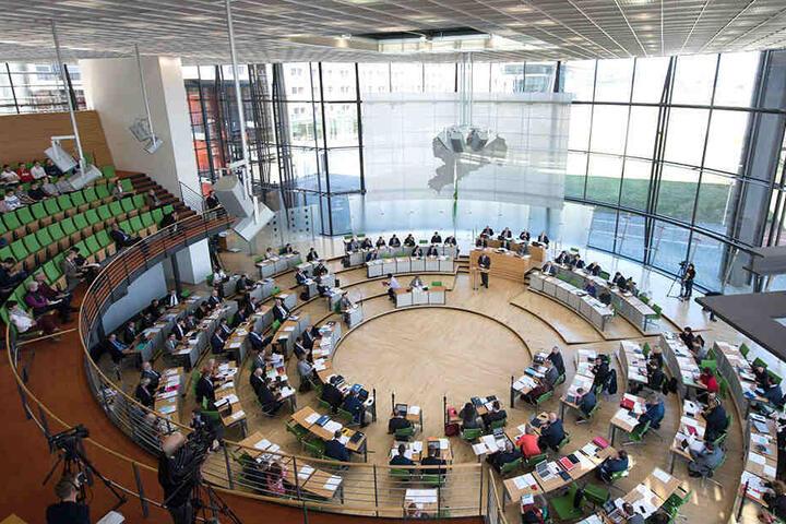 Der sächsische Landtag ist das Ziel der FW (Freien Wähler).