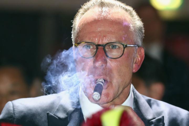 Ob Karl-Heinz Rummenigge seinen Vertrag beim FC Bayern München verlängern wird, ist offen.
