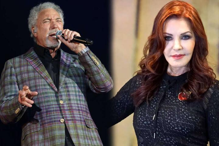 Unter anderem haben sich Tom Jones (76) und Elwis-Witwe Priscilla Presley (71) angekündigt.