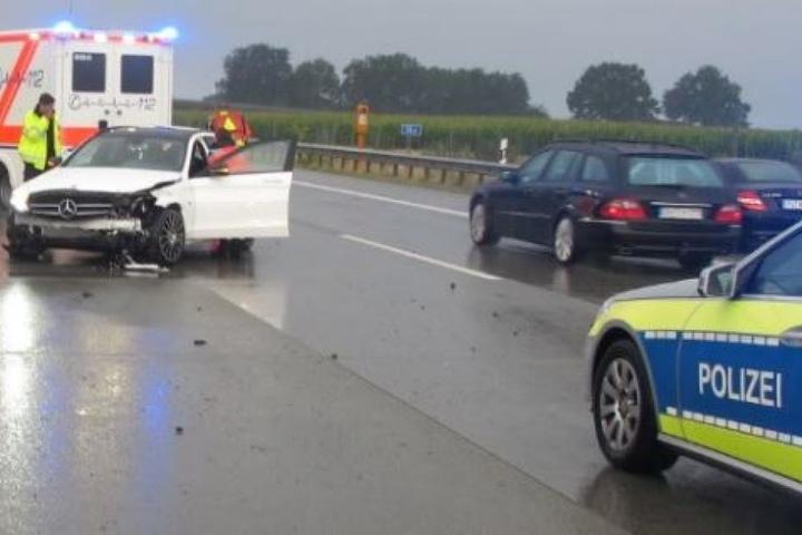 Bild von der Unfallstelle.