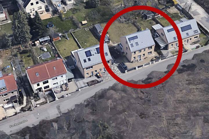 Vor diesem neugebauten Wohnhaus in der Fockestraße 139 hatte sich der Angriff ereignet.