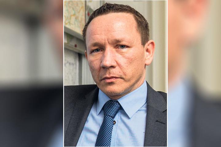 Polizeisprecher Marko Laske (43).