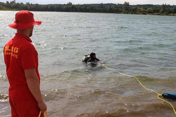 Badesee Birkwitz: Rettungskräfte suchen Vermissten