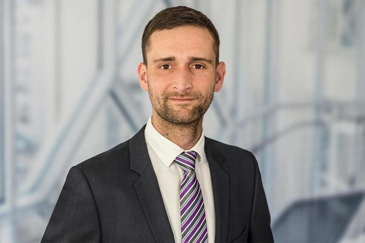 Stadtbezirksbeirat Lutz Hoffmann (36, CDU).