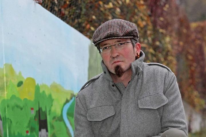 """Am 31. Dezember ist für Stadtrat René Hahn (35, Linke) Schluss im """"Alten Gasometer""""."""