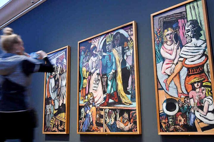 In Potsdam sind die Werke von Max Beckmann zu bestaunen.