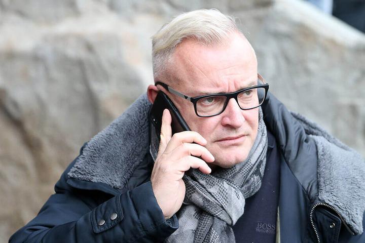 Veilchen-Geschäftsführer Michael Voigt.