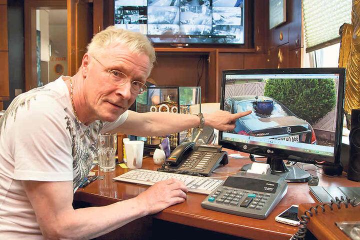 Wolle Förster (61) ist am Mittwoch ihn der RTL-Show als pfiffiger Detektiv zu  erleben.
