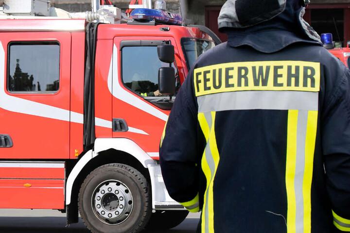 Insgesamt waren 22 Einsatzkräfte von Feuerwehr und Rettungsdienst vor Ort (Symbolbild).
