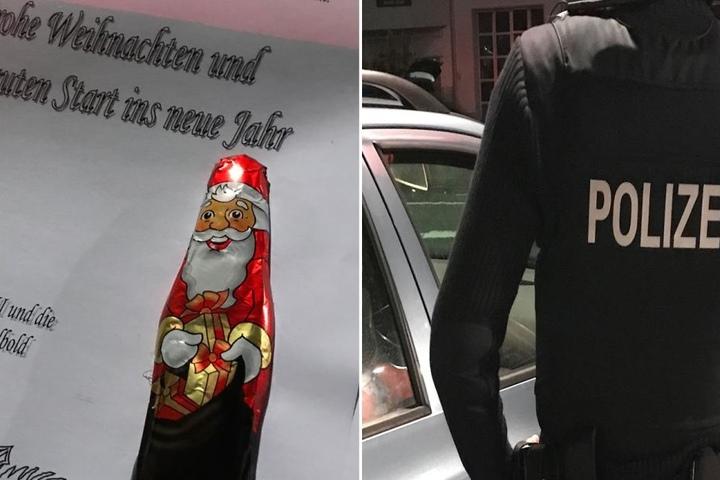 Ein nettes Schreiben gekrönt von einem Schoko-Nikolaus verteilten die Beamten an tadellos agierende Verkehrsteilnehmer.