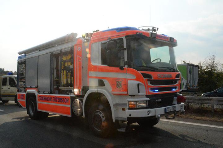 Auch die Feuerwehr war vor Ort.