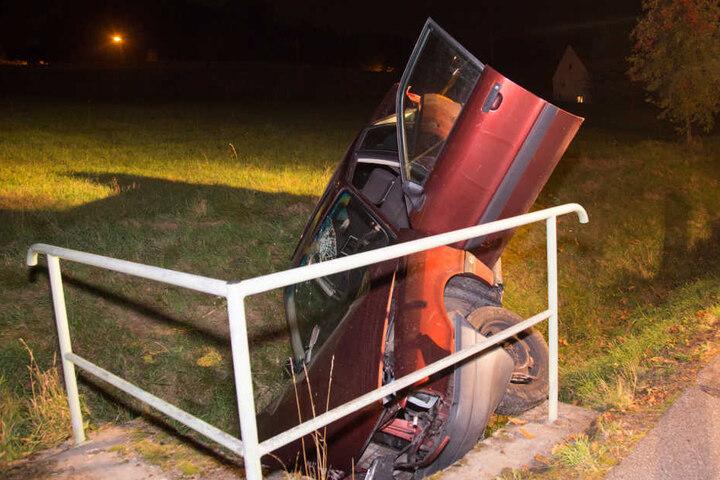Der Fahrer des Audis soll betrunken gewesen sein.