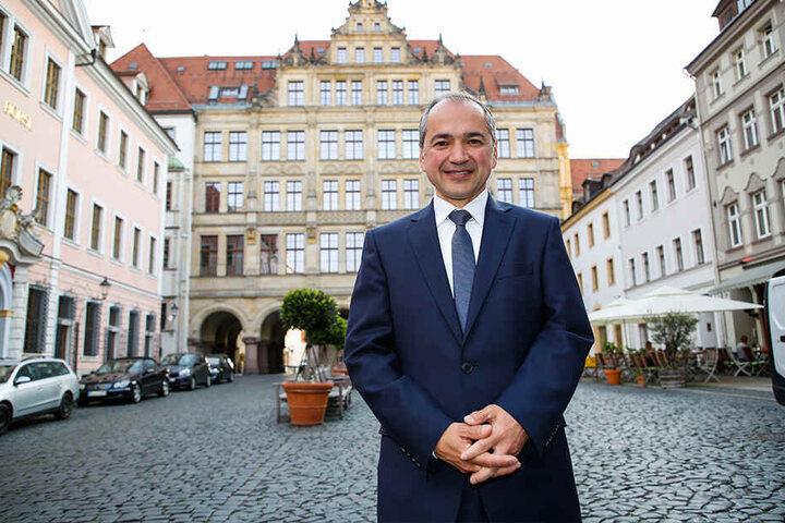 Octavian Ursu (51, CDU) bekam 30,3 Prozent der Stimmen im ersten Wahlgang.