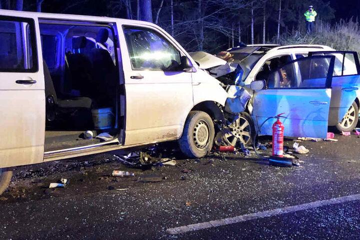 Zwei Kinder der Familie sind nach dem Unfall aufgrund ihrer Verletzungen im Krankenhaus gestorben.