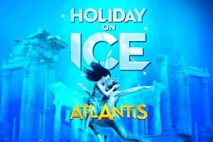 Der Atlantis-Mythos wird Holiday on Ice als Eiskunstshow inszeniert.