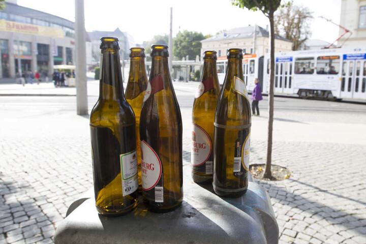 In Plauen ist offenbar bald Schluß mit dem Alkohol trinken in der Öffentlichkeit.