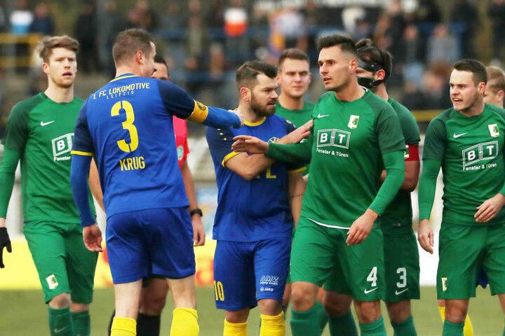 Das Derby am 22. November 2017 endete nach 90 Minuten plus 17 Minuten Nachspielzeit wegen Unterbrechungen 0:0.