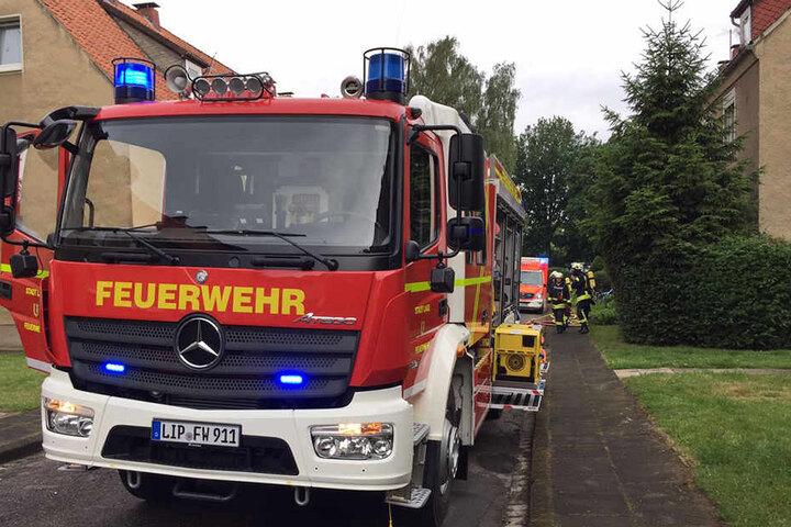 Der Mann wurde durch den Feuerwehr-Einsatz geweckt.