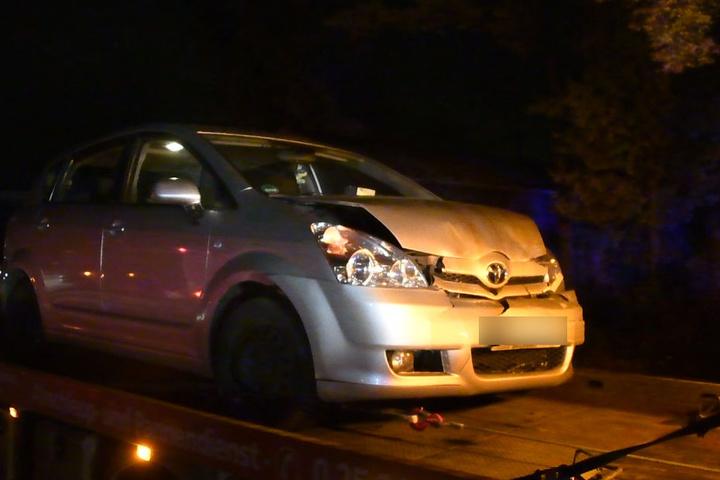 Die Insassen des Toyota blieben unverletzt.