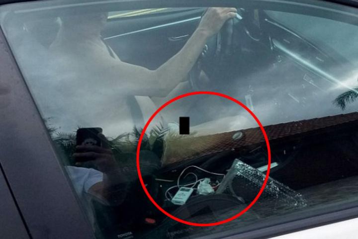Kurt Jenkins fuhr nackt mit einem Elektrokabel am Penis durch eine Nachbarschaft in Florida.