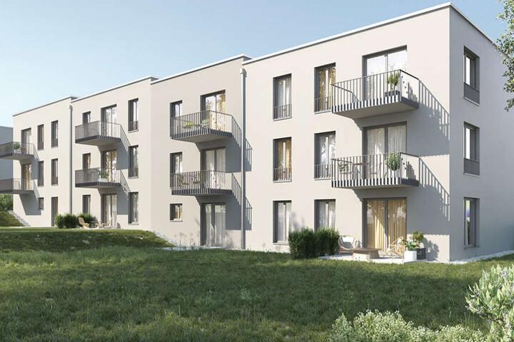 Die künftigen Sozialwohnungen sollen alle einen Balkon oder eine Terrasse bekommen.