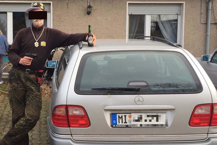Mit diesem Fahndungsbild hatte die Polizei Bielefeld nach Jörg W. gesucht.