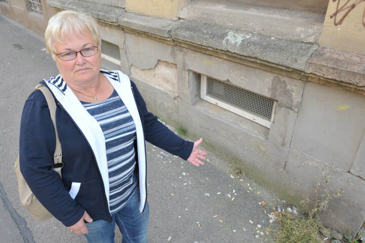 Renate Albrecht hat im Verein Stadthalten für Ordnung gesorgt, jetzt sind die Hauseigentümer verantwortlich.