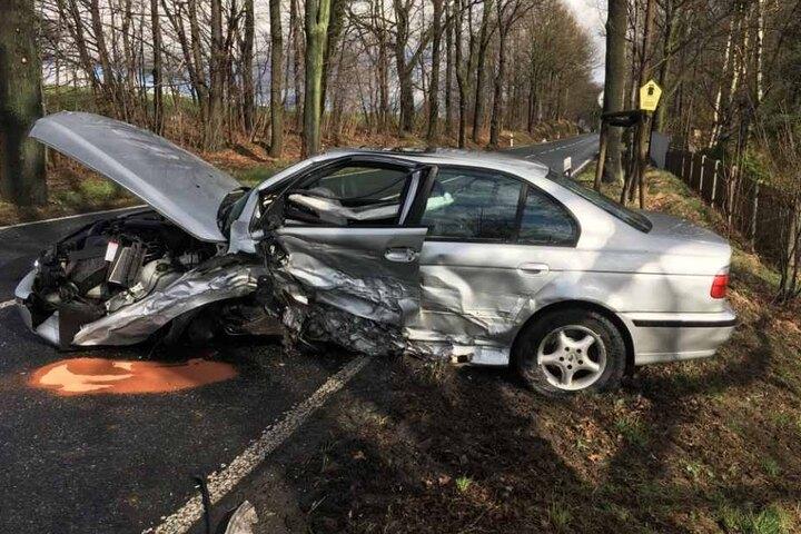 Der Unfall ereignete sich auf der Pirnaer Straße zwischen Copitz und Doberzeit.