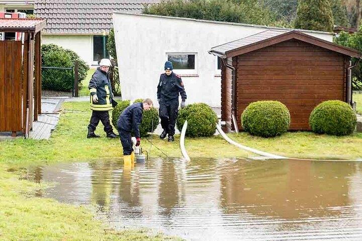 60 Liter Regen pro Quadratmeter wurden gemessen.