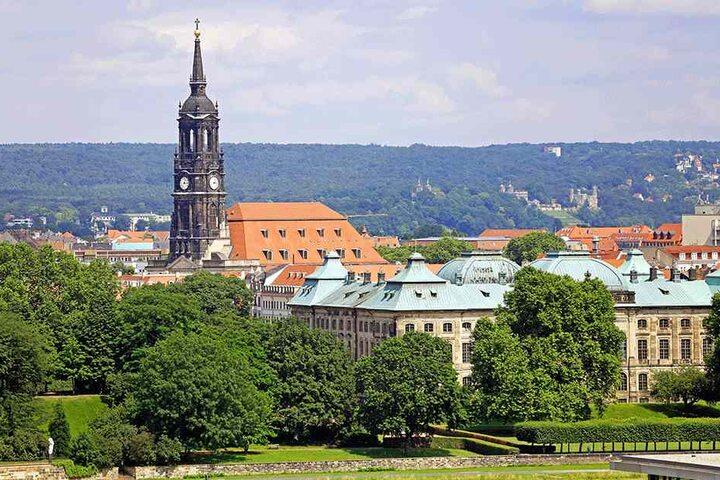 Die Dreikönigskirche.