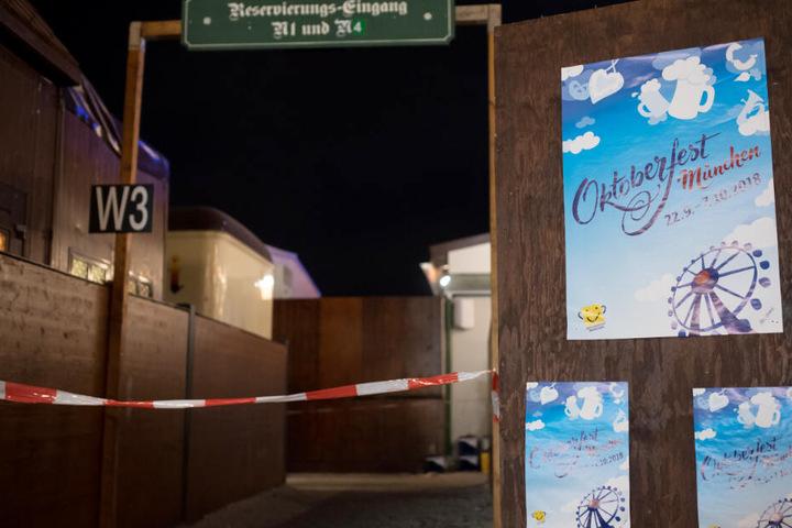 Vor dem Augustiner-Festzelt wurde im Jahr 2018 auf der Wiesn ein Mann tödlich verletzt.
