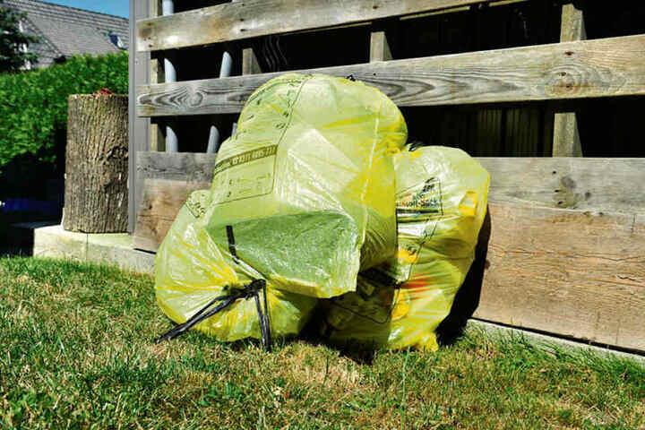 Die Gelben Säcke werden ab Januar überall durch die Tonnen abgelöst.