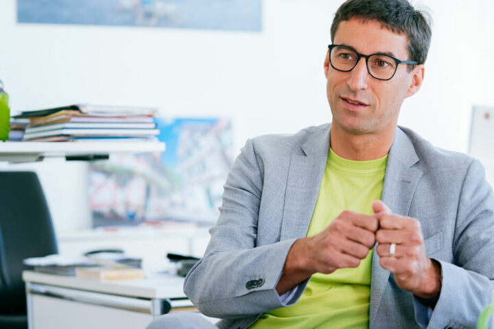 Matthias Klopfer (51, SPD) ist Oberbürgermeister der Stadt Schorndorf und will bei der Wahl des neuen VfB-Präsidenten kandidieren.