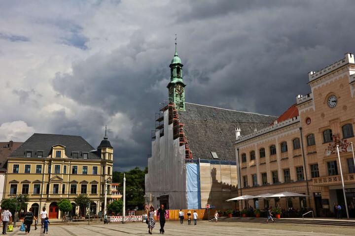 Rund 15 Millionen Euro soll die Sanierung des Zwickauer Gewandhauses kosten.