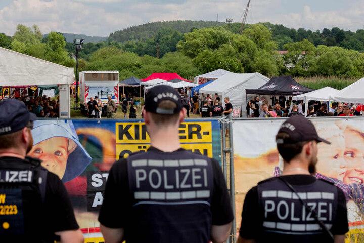 Tausende Neonazis waren in Magdala erwartet worden, doch dann kippte eine einstweilige Verfügung die Veranstaltung.