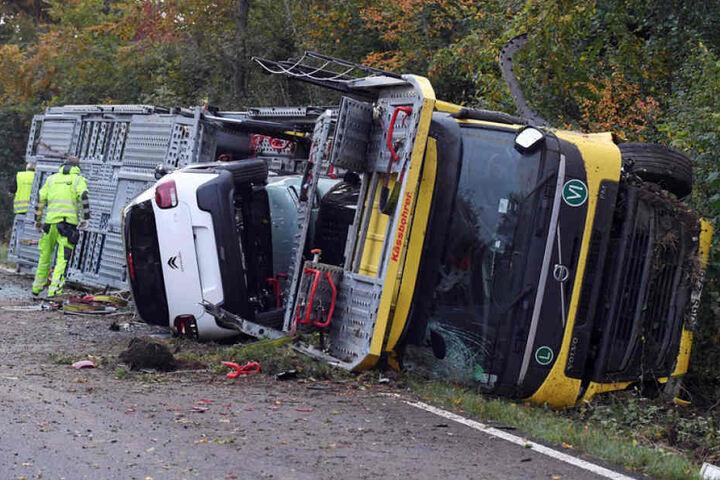 Die Unfallursache ist bisher völlig unklar.