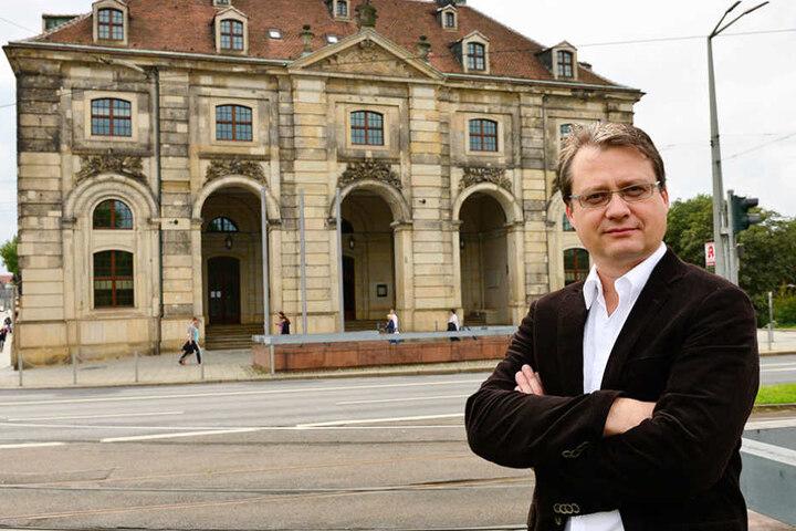 Torsten Kulke (51), Vorsitzender der Gesellschaft Historischer Neumarkt Dresden.